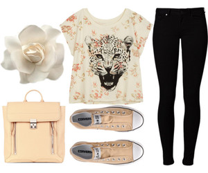 accessories, cat, and clothes image