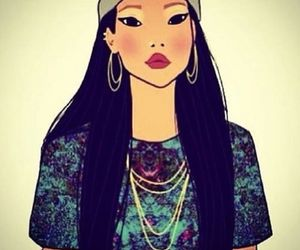 beautiful, style, and pocahontas image