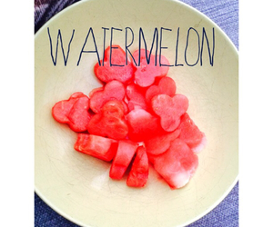 black, pink, and watermelon image