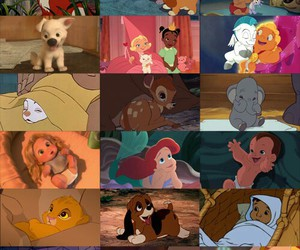 baby, disney, and cute image