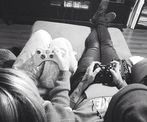 cool, couple, and play image