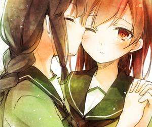 anime, game, and yuri image