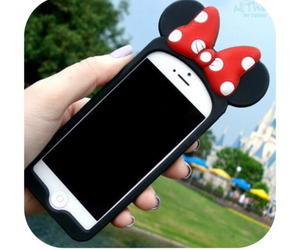 iphone and minnie mouse image