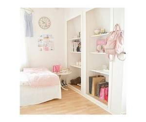 backpack, roominspiration, and bed image
