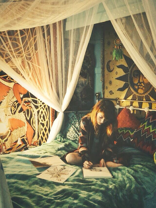 Alone In My Room Via Tumblr On We Heart It