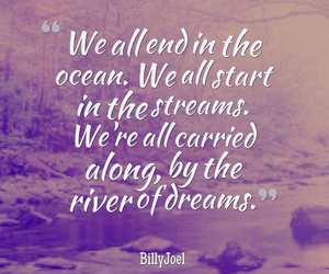 quote, Dream, and ocean image