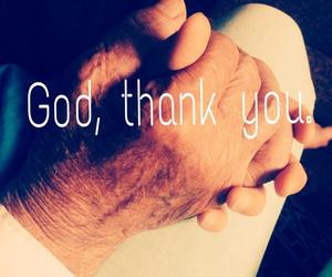 god, grandfather, and thankyou image