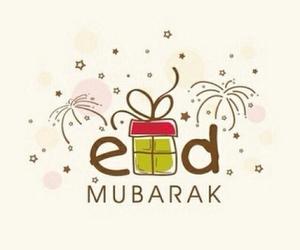 eid mubarak, eid, and islam image