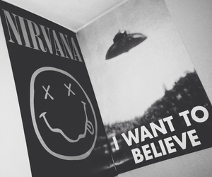 aliens, nirvana, and bands image