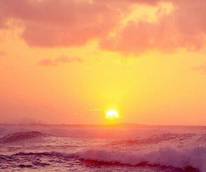 sun, sunset, and beautiful image