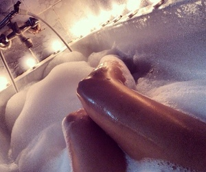 bath, rich, and fit image