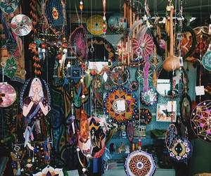hippie, vintage, and dreamcatcher image