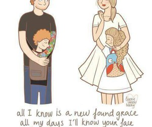 Taylor Swift, everything has changed, and ed sheeran image