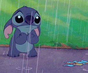 stitch, disney, and sad image