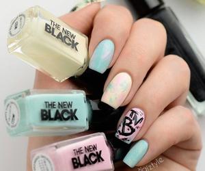colors, nail art, and pastel image