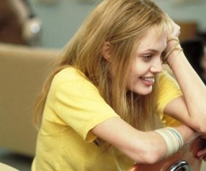 Angelina Jolie, girl interrupted, and 90s image