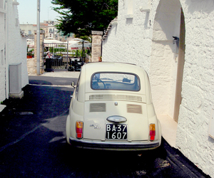 car, travel, and white image
