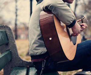 guitar, music, and cute image