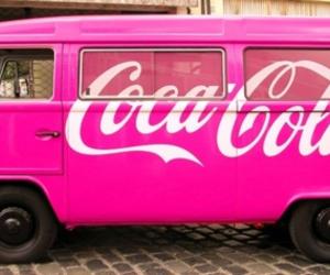 pink, coca cola, and car image
