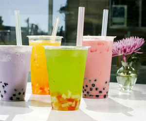 drink, summer, and bubble tea image