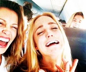 katie cassidy and caity lotz image