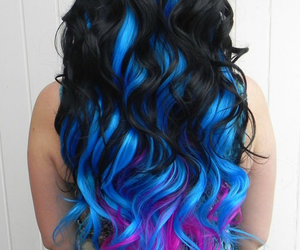 beautiful, blue, and color image