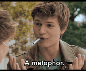 metaphor and the fault in our stars image