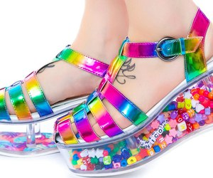 beads, shoes, and nice image