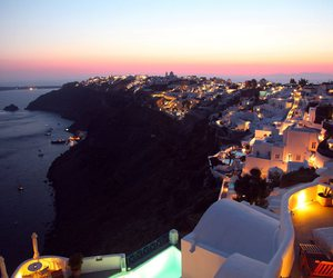 Greece, lights, and night image