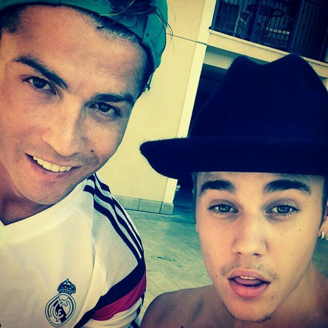 justin bieber, bieber, and cr7 image