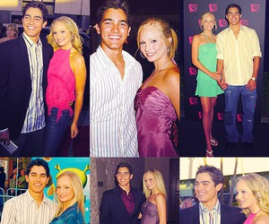 candice accola and tyler hoechlin image