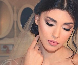 bride, make up, and pretty image