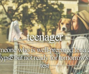 teenager and definition image