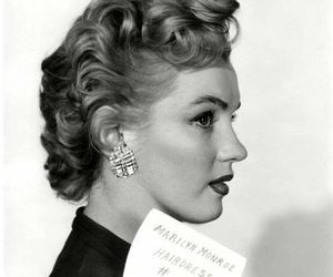 Marilyn Monroe, vintage, and actress image