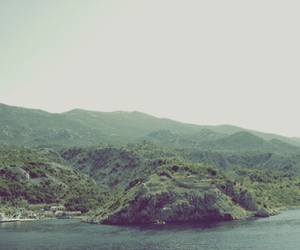 mountains, woods, and sea image