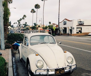 california, car, and vintage image