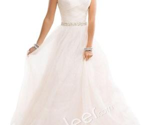 bride, wedding dress, and diamonds image