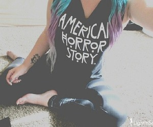 grunge, hair, and american horror story image