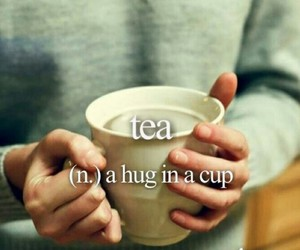 tea, hug, and cozy image