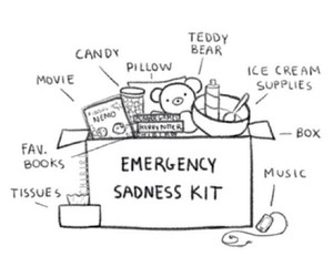 sadness, emergency, and music image