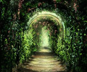 art, digital art, and garden image