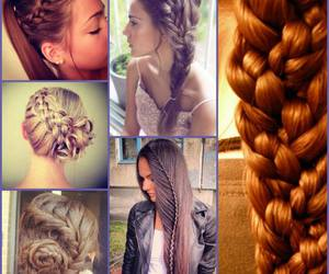 hair and trenza image