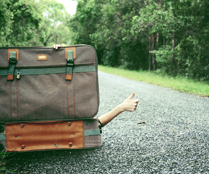 alone, bags, and deviant art image