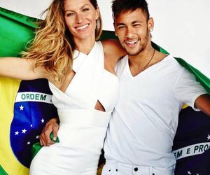 neymar, brasil, and giselle image