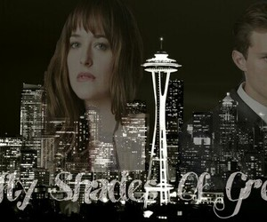 Jamie Dornan, seattle, and dakota johnson image