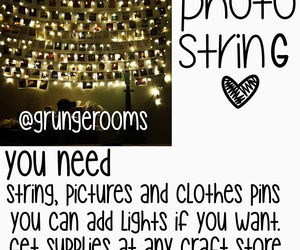 crafts, lights, and room image
