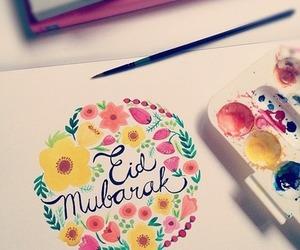 eid, eid mubarak, and muslim image