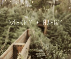 christmas, happy, and merry image