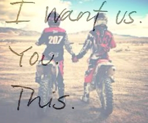motocross, qoute, and supercross image