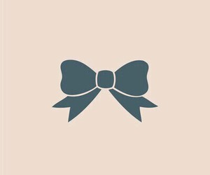 wallpaper, bow, and pink image